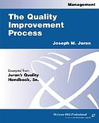 The quality improvement process