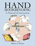 Hand bookbinding, a manual of instruction