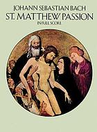 St. Matthew Passion