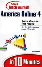 Sams teach yourself America Online in 10 minutes