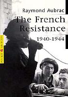 The French resistance, 1940-1944