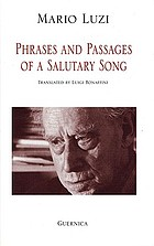 Phrases and passages of a salutary song