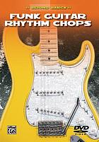 Funk guitar rhythm chops