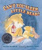 Can't you sleep, Little Bear