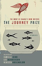 The Journey prize stories. the best of Canada's new writers