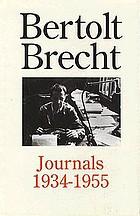 Bertolt Brecht journals