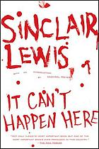 It can't happen here : a novel