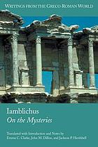Iamblichus, De mysteriis