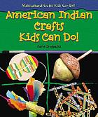 American Indian crafts kids can do!