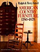 American country furniture : 1780-1875