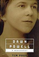 Dawn Powell : a biography