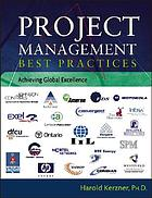 Project management best practices : achieving global excellence