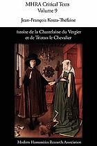 Istoire de la Chastelaine du Vergier et de Tristan le Chevalier