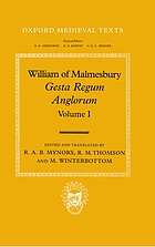 Gesta regum Anglorum = The history of the English kingsGesta regum Anglorum