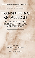Transmitting knowledge : words, images, and instruments in early modern Europe