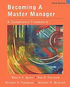 Becoming a master manager : a competency framework