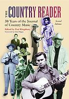 The country reader : twenty-five years of the Journal of country music