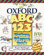 My Oxford ABC and 123 picture rhyme book