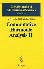 Commutative harmonic analysis II : group methods in commutative harmonic analysis
