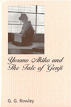 Yosano Akiko and the Tale of Genji