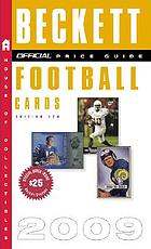 The official 2009 price guide to football cards