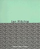 Ian Ritchie : technoecology