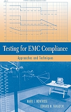 Testing for EMC compliance approaches and techniques