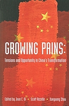 Growing pains : tensions and opportunity in China's transformation