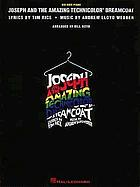 Andrew Lloyd Webber's new production of Joseph and the amazing technicolor dreamcoat Canadian cast recording