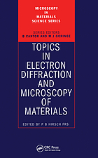 Topics in electron diffraction and microscopy of materials