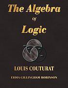 The algebra of logic