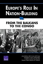 Europe's role in nation-building from the Balkans to the Congo