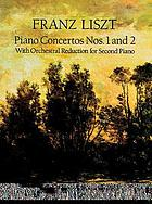 Concerto no. 1 in E♭ major for the piano : two pianos, four hands (in score)