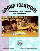 Group solutions : cooperative logic activities