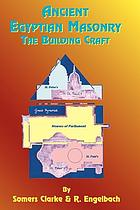 Ancient Egyptian masonry; the building craft