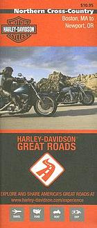 Northern cross-country, Boston, MA to Newport, OR : Harley Davidson great roads