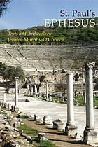 St. Paul's Ephesus : texts and archaeology
