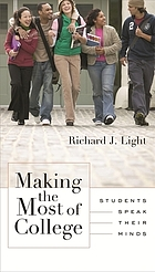 Making the most of college : students speak their minds