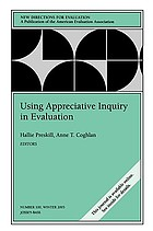 Using appreciative inquiry in evaluation