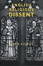 English religious dissent