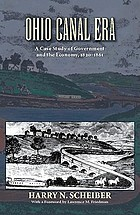 Ohio canal era; a case study of government and the economy, 1820-1861