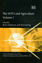 The WTO and agriculture