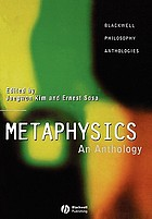 Metaphysics : an anthology