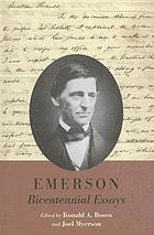 Emerson bicentennial essays