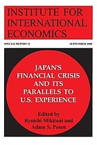 Japan's financial crisis and its parallels to U.S. experience