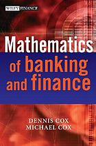 Mathematics of banking