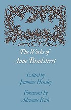 The works of Anne BradstreetThe works