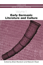 Early Germanic literature and culture