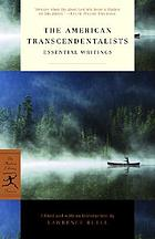 The American transcendentalists : essential writings