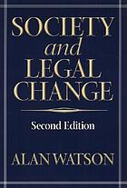 Society and legal change